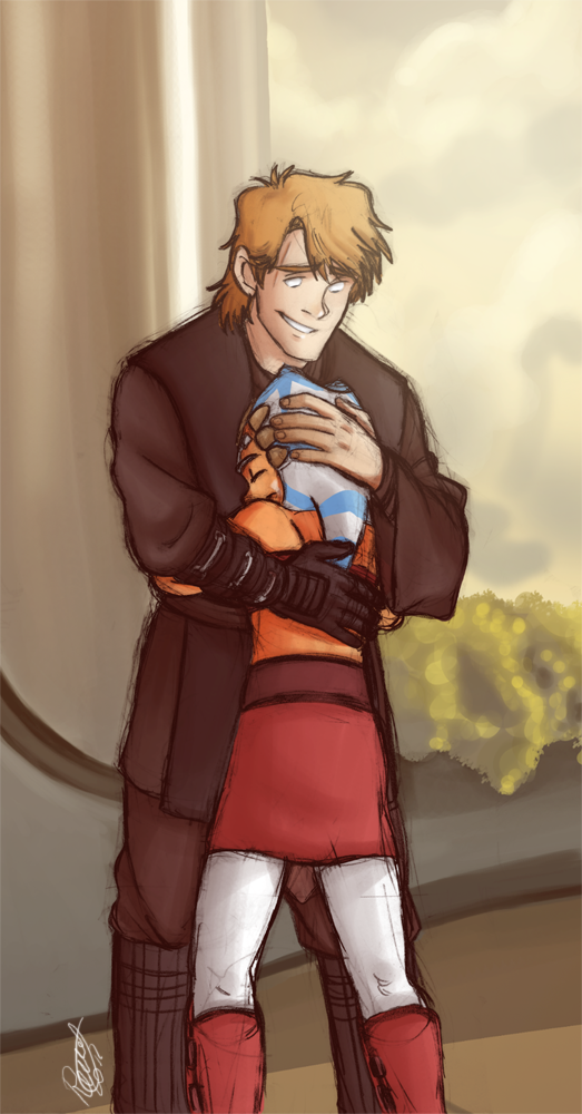 SW - Brotherly Hug by Renny08 on DeviantArt