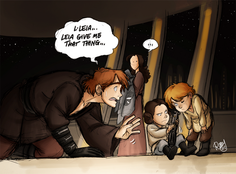 SW - Leia...would you give me that thing...