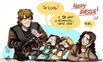 SW - Happy -belated- Easter :D
