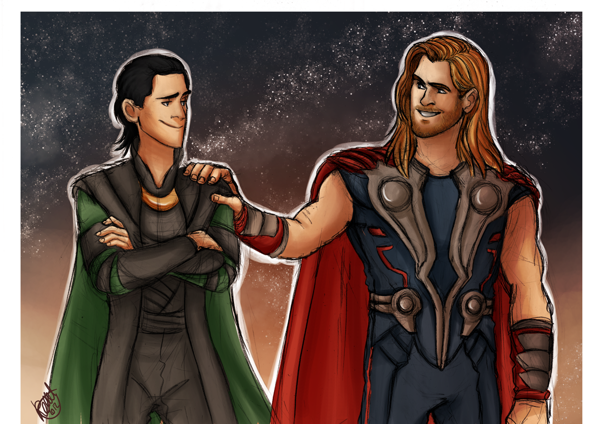 Avengers - Thor and Loki, Sons of Odin by Renny08 on DeviantArt