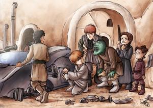 Star Wars - Building A Podracer