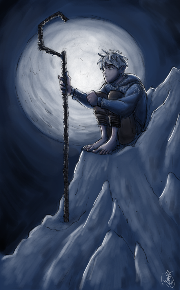 Rise Of The Guardians - Jack Frost and The Moon by Renny08 ...