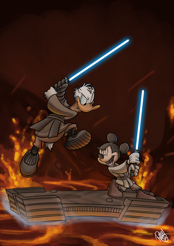 Star Wars Magazine Cover! by Renny08