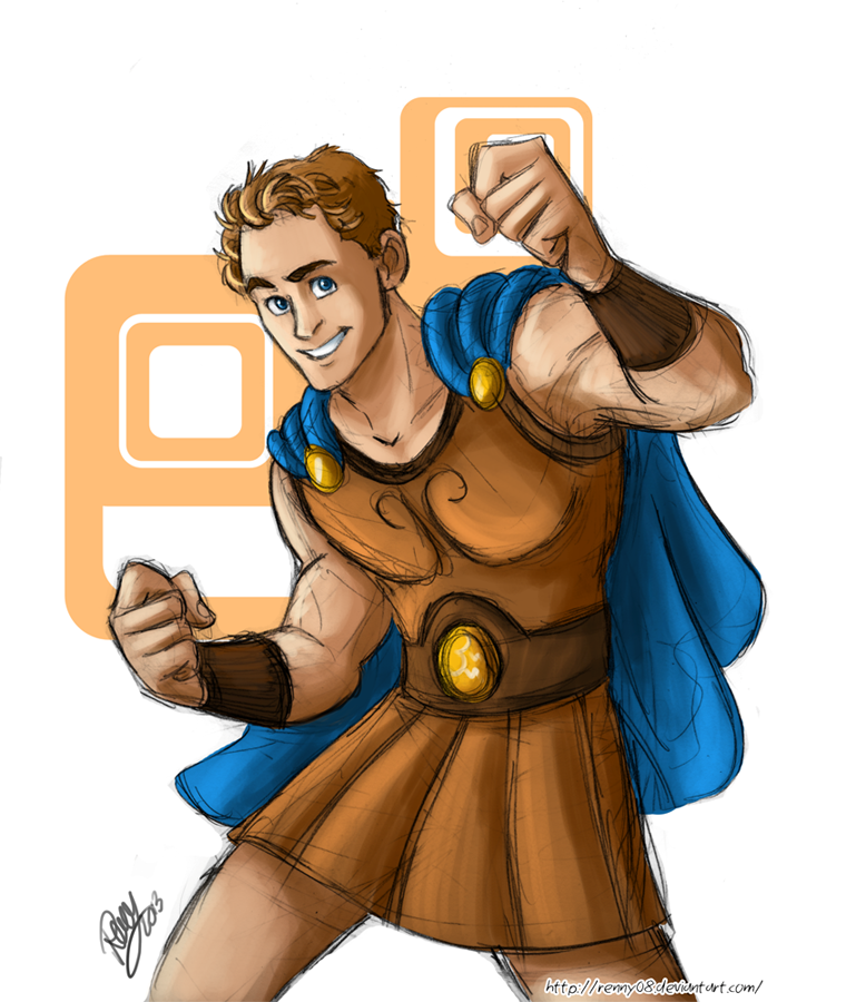 Hiddles Hercules Appears!! (late Christmas gift) by Renny08