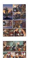 Disney Exam Comic Pages 1- Fantasy