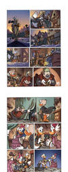 Disney Exam Comic Pages 1- Fantasy by Renny08