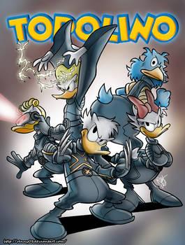 Disney - X-Ducks Fake Cover