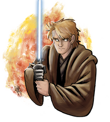 Star Wars - Anakin Sketch by Renny08