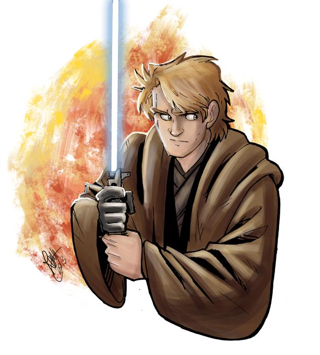 Star Wars - Anakin Sketch by Renny08