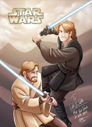 Star Wars - Anakin and Obi-Wan by Renny08
