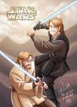 Star Wars - Anakin and Obi-Wan by Renny08