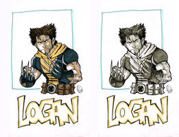 Logan Double Sketch by Renny08