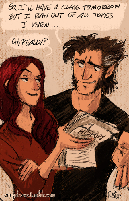 X-Men - History revising by Renny08