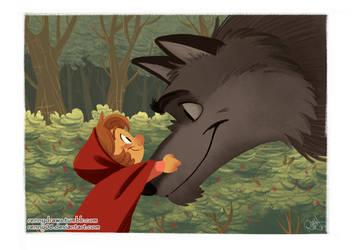 The Big Bad Wolf by Renny08