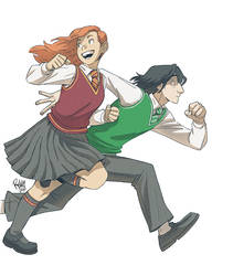 Lily and Severus