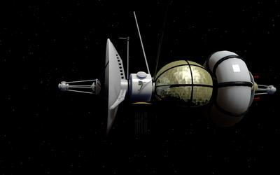 Drake space probe by NoctumSolaris