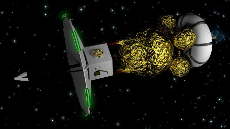 Drake space probe 2 by NoctumSolaris