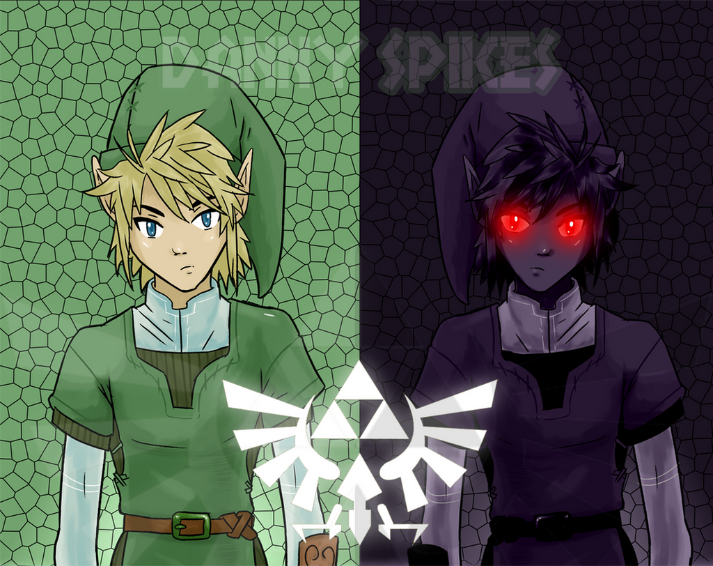 Legend Of Zelda Dark Link Vs Link Link VS Dark Link (Leg...