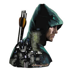The Arrow - Starling City - The Green Arrow.