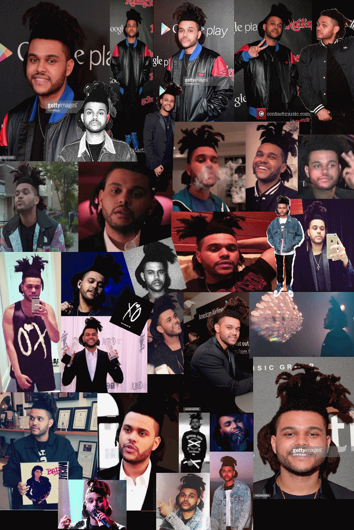 The Weeknd Phone Wallpaper For Fans By Cookiez4evr