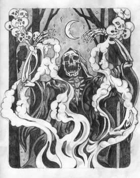 Incantation Preliminary Drawing