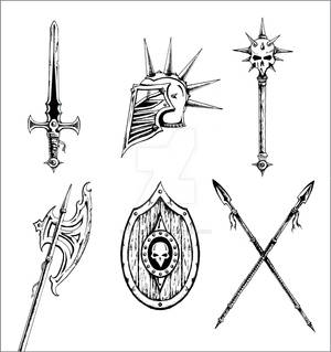 Cultic Warrior Weaponry