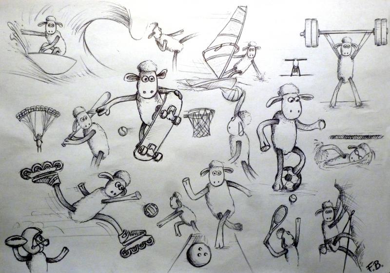 Pas le temps de dessiner... la fin ? by floboc