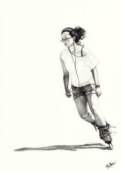 Elodie Skating
