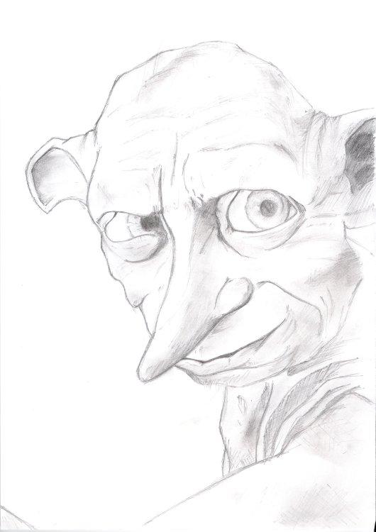 Vos dessins harry potter - Dessin harry potter facile ...