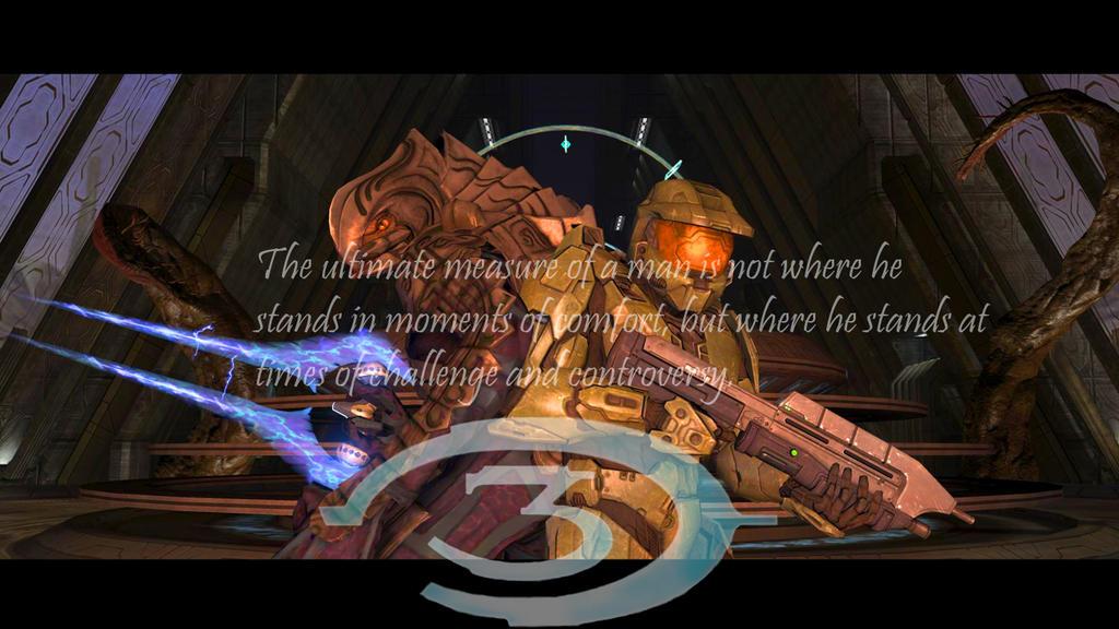 Halo 3 Wallpaper by xSilverwingx