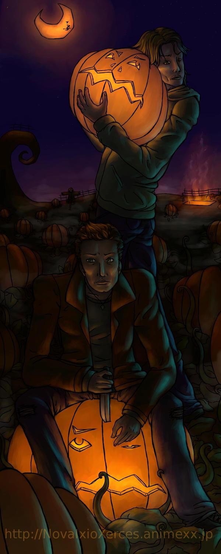 Good Wallpaper Halloween Supernatural - a_very_supernatural_halloween_by_novaixioxerces  Photograph_299981.jpg