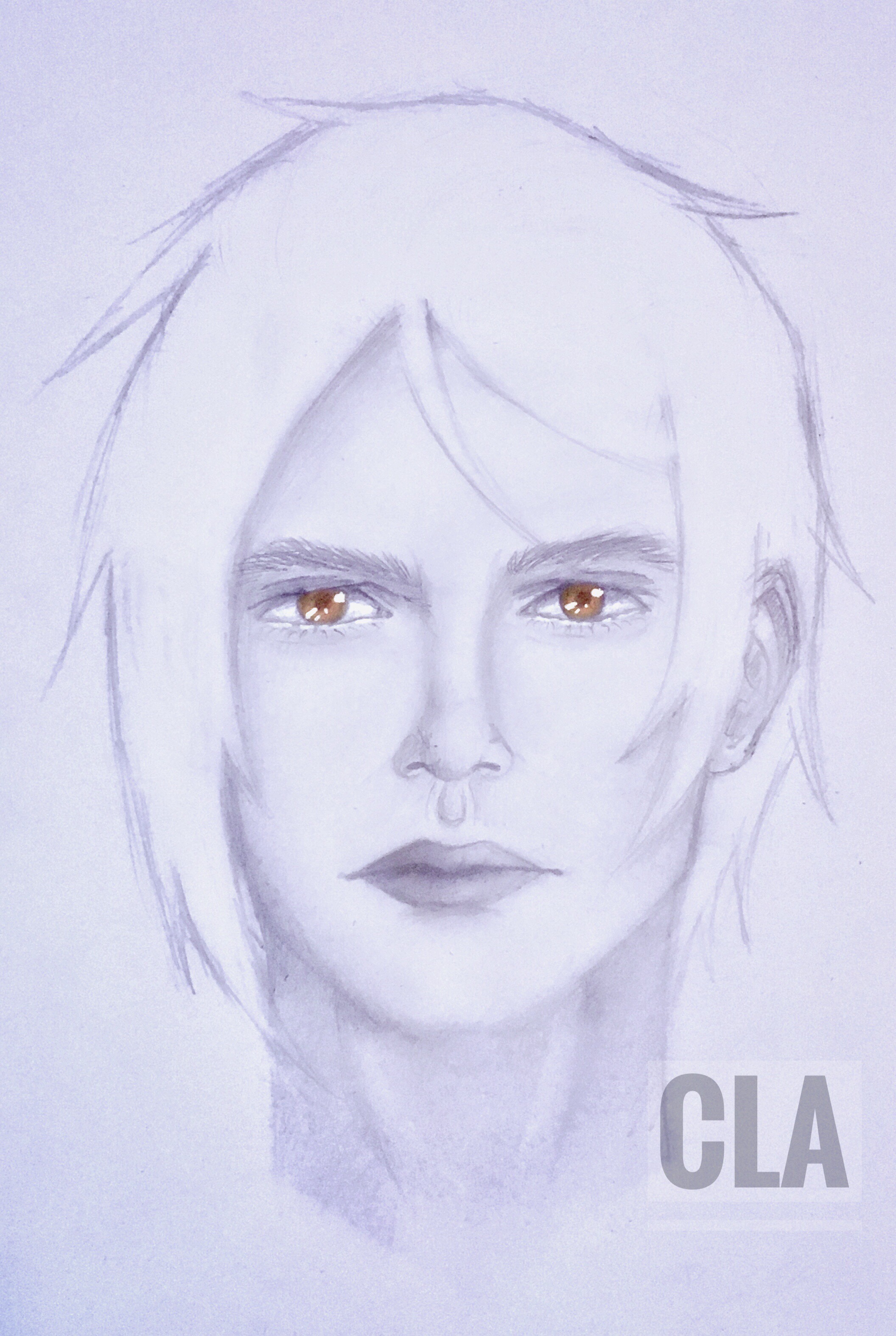 Sebastian Michaelis Fanart (realistic style) W.I.P