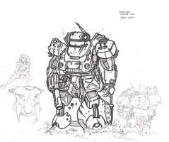 HeavyGear - WIP by Sebbythefreak