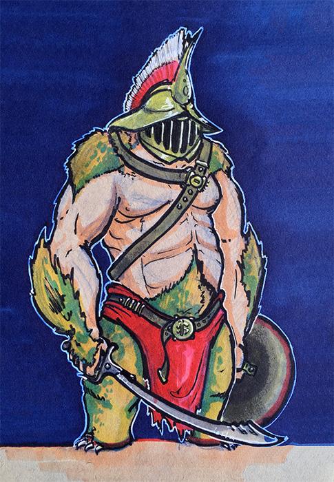 Bugbear Gladiator by Sebbythefreak
