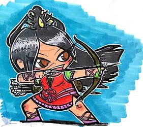 DnD Chibi - Fighter (Archer)