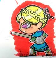 DnD Chibi - Knight by Sebbythefreak