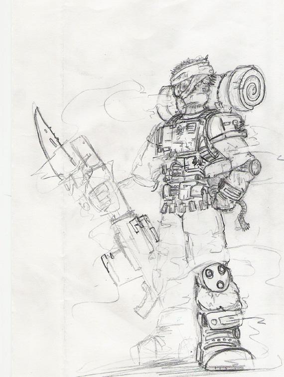 Imperial Guard by Sebbythefreak