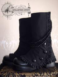 Steam-Aristokrat Black Spats