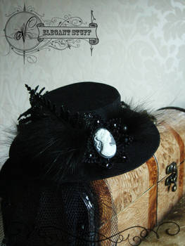 Elegant hat with veil