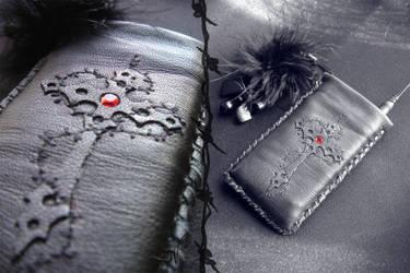 Leather cross
