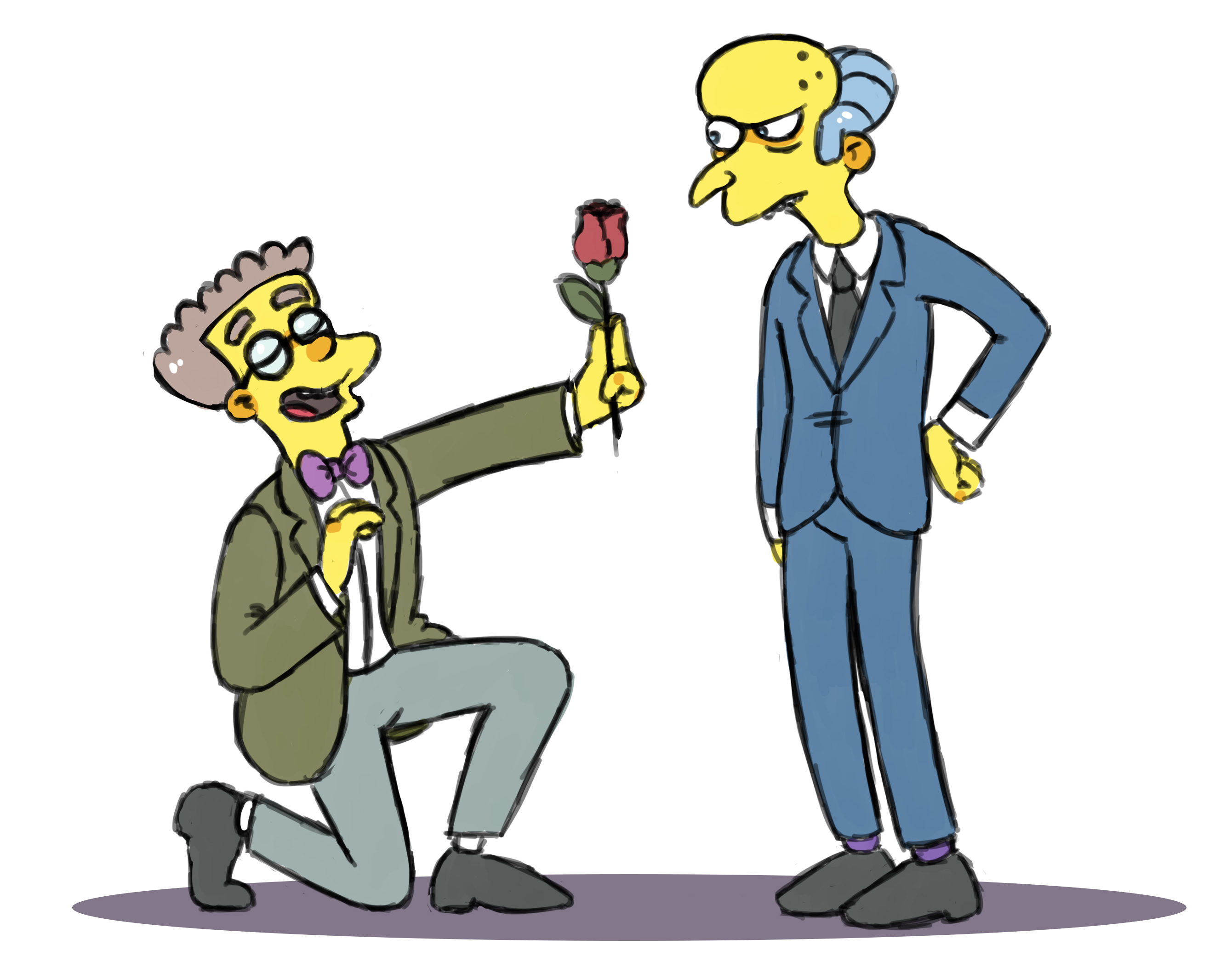 smithers chatrooms Stop -- scaring -- smithers when abe goes on a death race  sometimes happens in various chatrooms only to be kicked out for flooding  punctuated for emphasis.