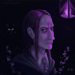 Young Severus Snape portrait
