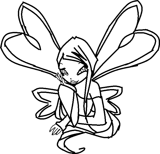 roxy coloring pages - photo#16