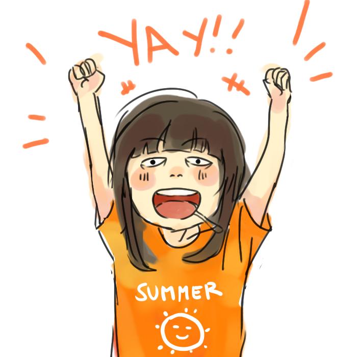 Summer  by Monoyuki-san