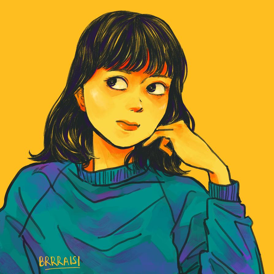 Self-portrait 3 by Monoyuki-san