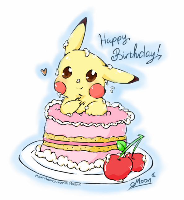 Pikachu happy birthday song