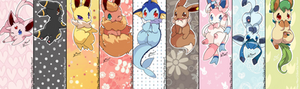 Eeveelutions Bookmark