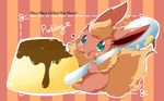 Flareon Pudding