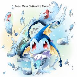 Bottle Pokemon Vaporeon by ChikoritaMoon