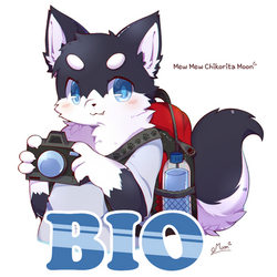 [Badge Commission] Bio by ChikoritaMoon